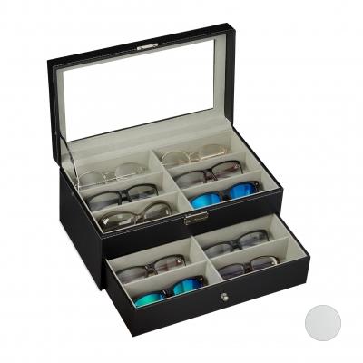 Brillendoos voor 12 brillen Gratis verzending