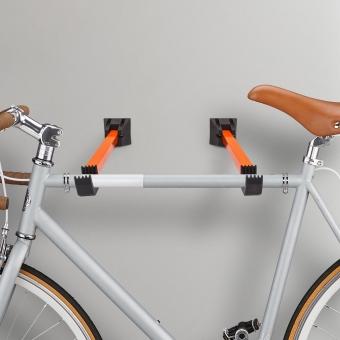 Fiets ophangsysteem muur - fietsbeugel wand - muurbeugel - 2 stuks - klapbaar Gratis verzending