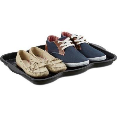 Schoenenmat zwart – Afdruipmat schoenen – schoen lekbak – 49 x 35 cm - Geschikt voor 2 paar schoenen Gratis verzending