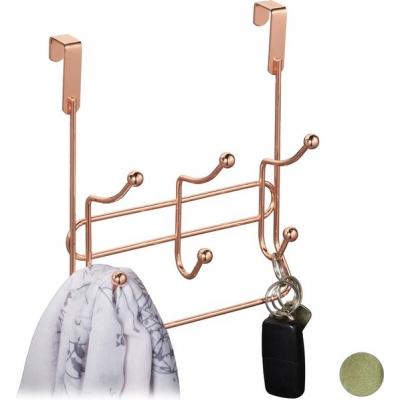 Deurkapstok - kapstok hangend - kledinghaken deur - deurhanger - deurhaken koperen Gratis verzending
