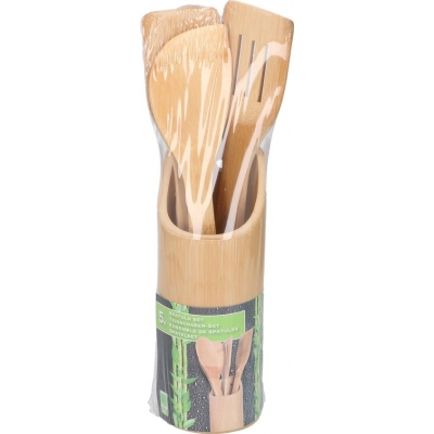 Bamboo spatelset 7-delig