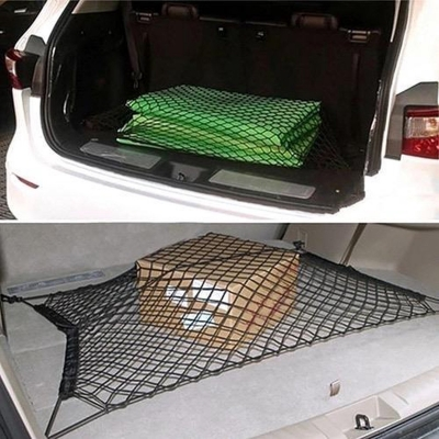 Universele auto kofferbak cargo organizer net - 4 schroef pluggen meegeleverd - Bagagenet - Kofferbaknet - 170 x 110 cm !Gratis verzending