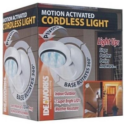 Lamp met bewegingssensor met batterijen Led