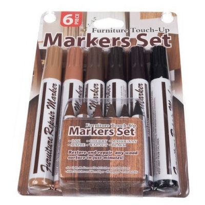 Set voor reparatie van meubels / panelen - markers