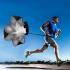 Weerstand Parachute 105CM - Sprint Hardloop training - Fitness - Zwart Gratis verzending