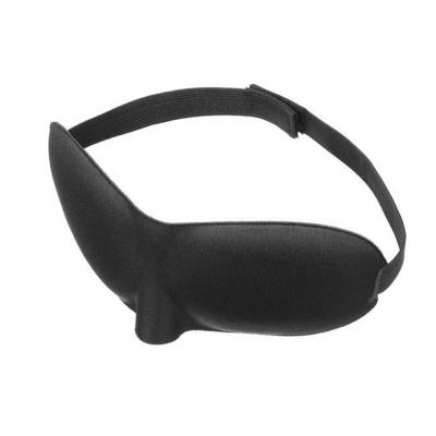 Slaapmasker - reismasker - blinddoek - om beter te kunnen slapen of voor op reis - zwart